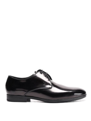 Tod'S: classic shoes - Polished leather derby shoes