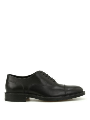 Tod'S: classic shoes - Semi glossy leather classic shoes