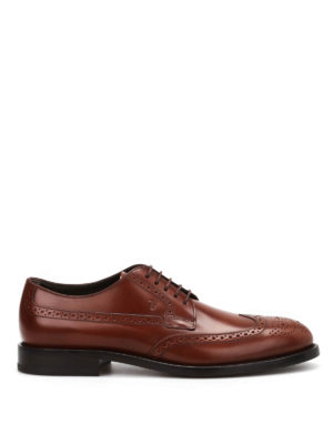Tod'S: classic shoes - Smooth leather lace-ups