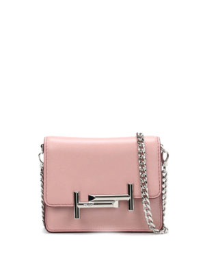 Tod'S: clutches - Double T mini clutch