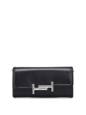 Tod'S: clutches - Double T wallet clutch
