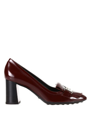 Tod'S: court shoes - Loafers-inspired leather pumps