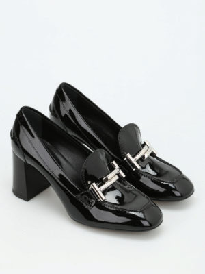 Tod'S: court shoes online - Double T patent pumps