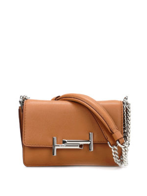Tod'S: cross body bags - Double T small crossbody