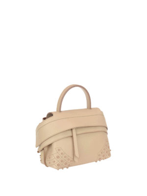 Tod'S: cross body bags online - Wave S leather bag