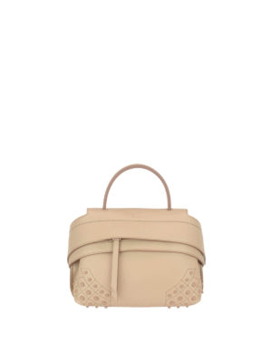 Tod'S: cross body bags - Wave S leather bag