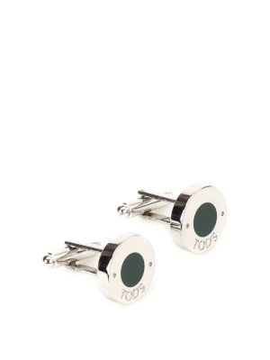 Tod'S: Cufflinks - Enamel detailed cufflinks