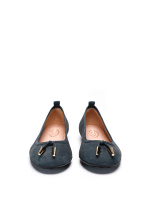 Tod'S: flat shoes online - Laccetto suede flats