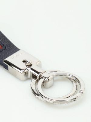 Tod'S: key holders online - Vallet Parking blue key holder