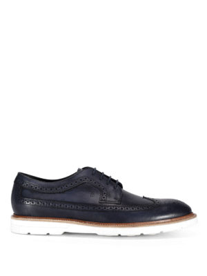 Tod'S: lace-ups shoes - 31A Derby contrasting sole shoes