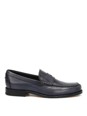 Tod'S: lace-ups shoes - British style leather derby shoes