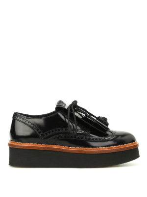 Tod'S: lace-ups shoes - Fringe and tassels Derby brogues