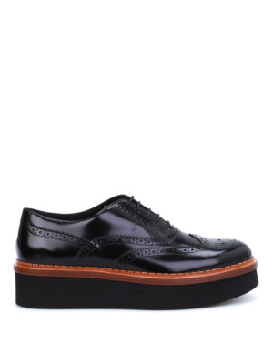 Tod'S: lace-ups shoes - Gomma T50 Bucature