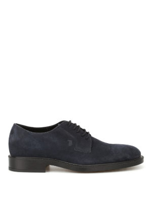 Tod'S: lace-ups shoes - Lace-ups suede derby shoes