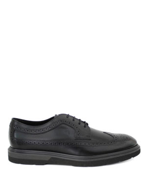 Tod'S: lace-ups shoes - Leather brogue Derby shoes