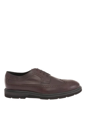 Tod'S: lace-ups shoes - Leather Derby brogue