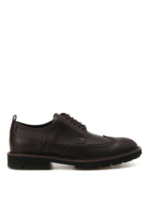 Tod'S: lace-ups shoes - Leather Derby brogues