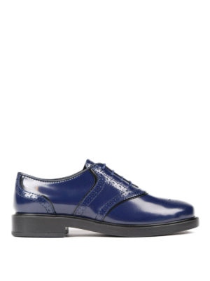 Tod'S: lace-ups shoes - Leather Oxford brogues