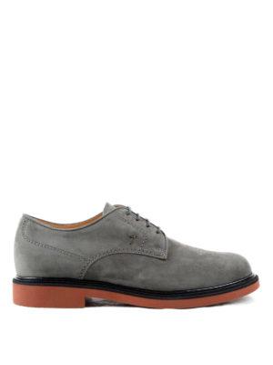 Tod'S: lace-ups shoes - Nubuck Derby shoes