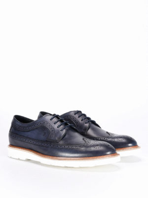 Tod'S: lace-ups shoes online - 31A Derby contrasting sole shoes