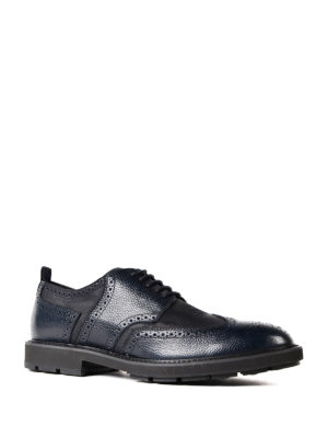 Tod'S: lace-ups shoes online - Bicolor leather derby shoes