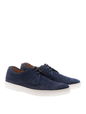 Tod'S: lace-ups shoes online - Casual 22A suede derby shoes