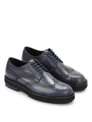 Tod'S: lace-ups shoes online - Derby leather lace-up