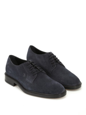 Tod'S: lace-ups shoes online - Lace-ups suede derby shoes