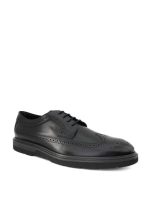 Tod'S: lace-ups shoes online - Leather brogue Derby shoes