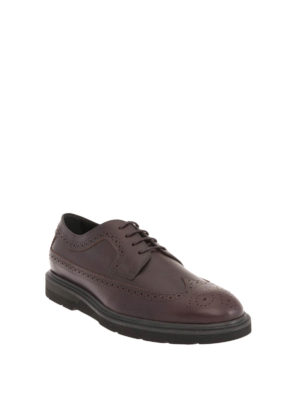 Tod'S: lace-ups shoes online - Leather Derby brogue