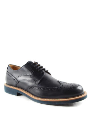 Tod'S: lace-ups shoes online - Leather Derby brogue shoes