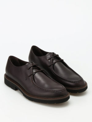 Tod'S: lace-ups shoes online - Leather laced-up shoes