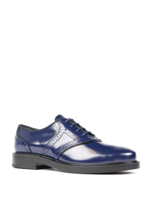 Tod'S: lace-ups shoes online - Leather Oxford brogues