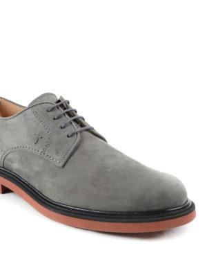 Tod'S: lace-ups shoes online - Nubuck Derby shoes