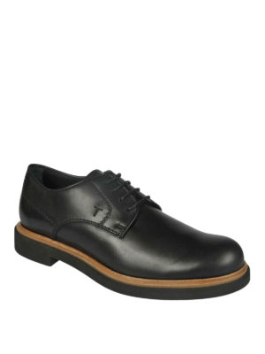 Tod'S: lace-ups shoes online - Plain toe Derby shoes