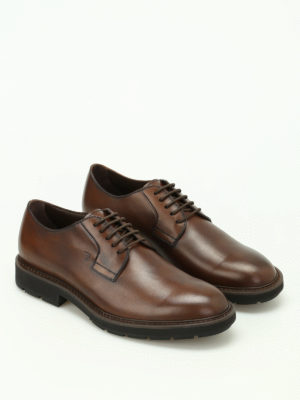 Tod'S: lace-ups shoes online - Shaded leather Derby shoes