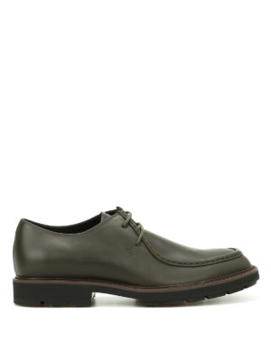 Tod'S: lace-ups shoes - Paraboot leather laced-up shoes