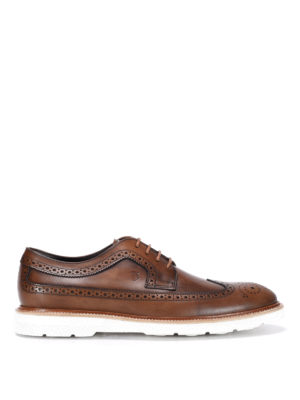 Tod'S: lace-ups shoes - Vintage leather Derby brogue