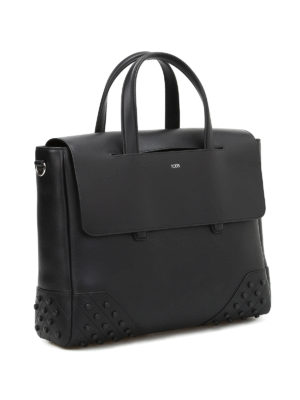 Tod'S: laptop bags & briefcases online - Leather small gommini bag