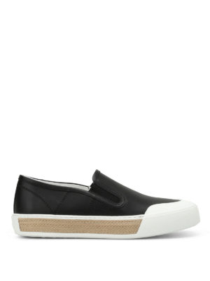 Tod'S: Loafers & Slippers - 26A leather slip-ons
