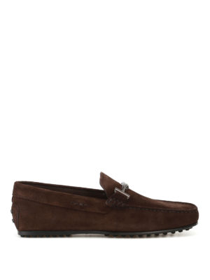 Tod'S: Loafers & Slippers - City Gommino dark brown loafers