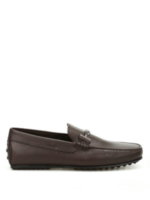 Tod'S: Loafers & Slippers - City Gommino double T loafers