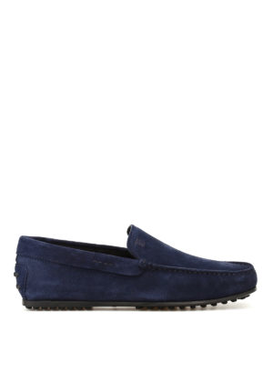 Tod'S: Loafers & Slippers - City Gommino galassia suede loafers