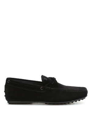 Tod'S: Loafers & Slippers - City Gommino suede loafers