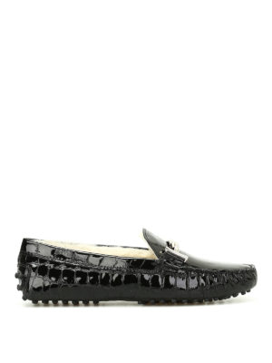 Tod'S: Loafers & Slippers - Double T fur lined loafers