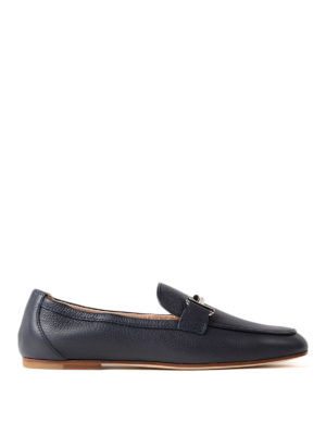Tod'S: Loafers & Slippers - Double T galassia leather loafers
