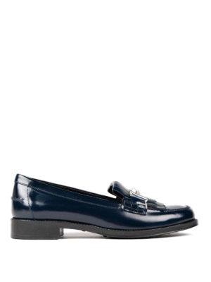 Tod'S: Loafers & Slippers - Double T leather loafers