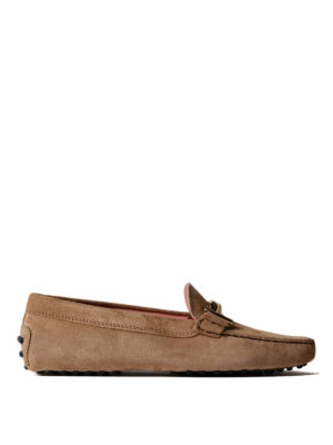 Tod'S: Loafers & Slippers - Double T suede loafers