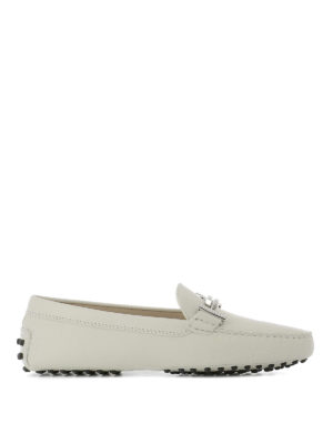 Tod'S: Loafers & Slippers - Embellished double T loafers