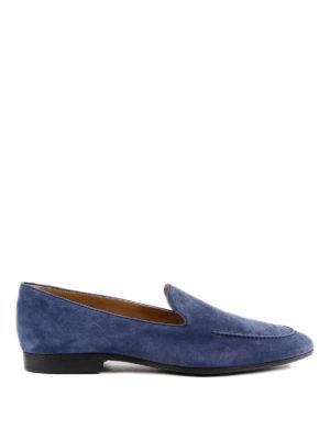 TOD'S: Mocassini e slippers - Mocassini in pelle con suola a contrasto